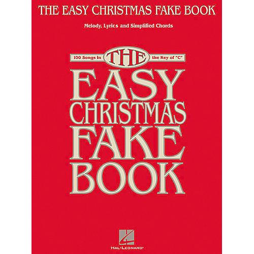 Hal Leonard The Easy Christmas (Fake Book)