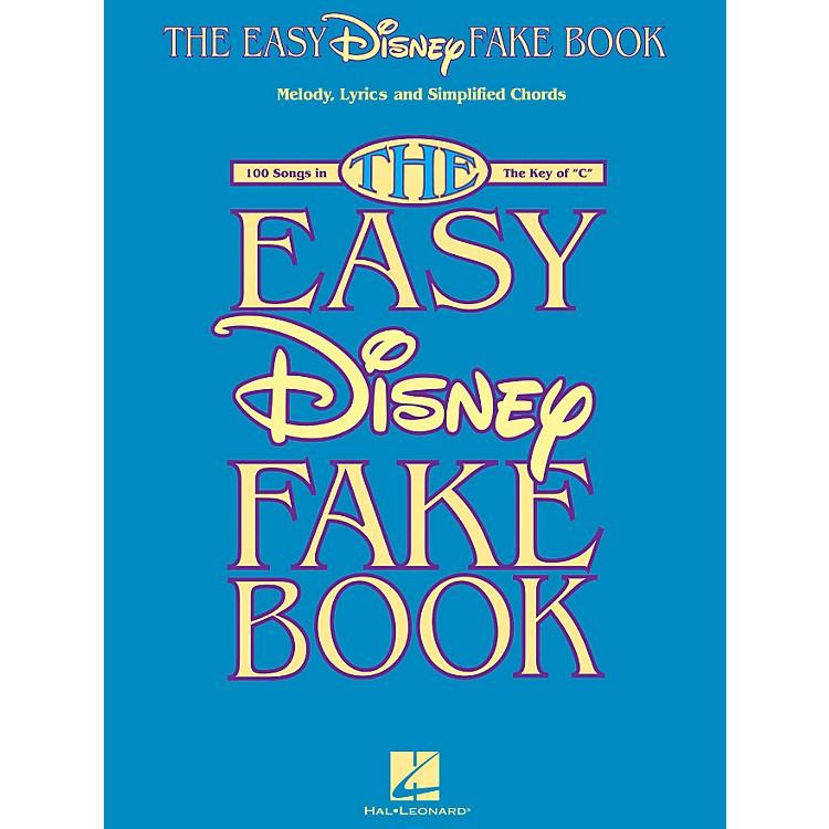 Hal LeonardThe Easy Disney Fake Book - 100 Songs In The Key Of C