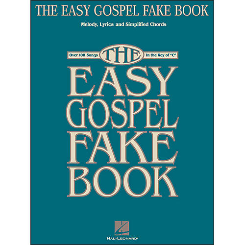 Hal Leonard The Easy Gospel Fake Book-thumbnail