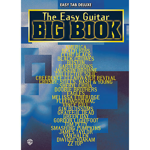 Alfred The Easy Guitar Big Tab Book