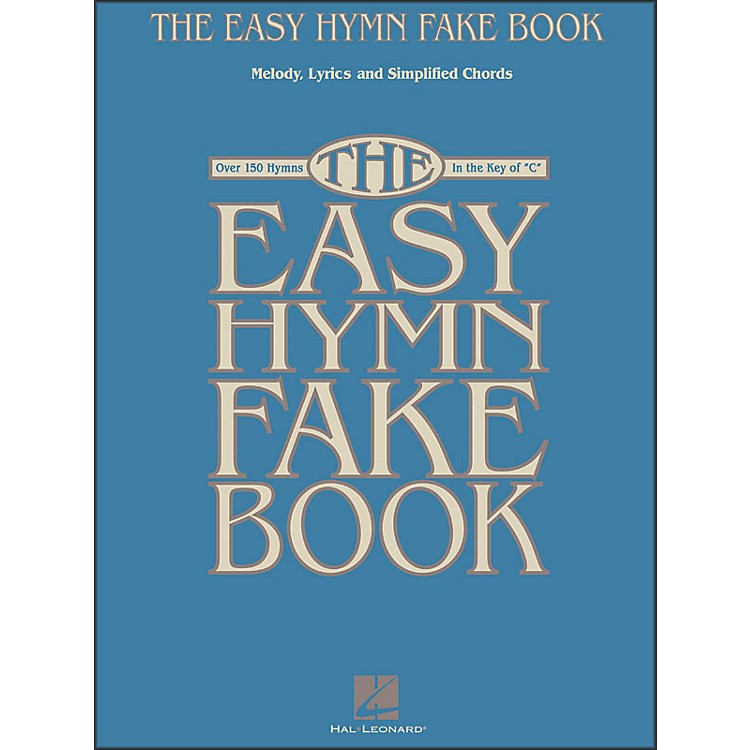 Hal Leonard The Easy Hymn Fake Book