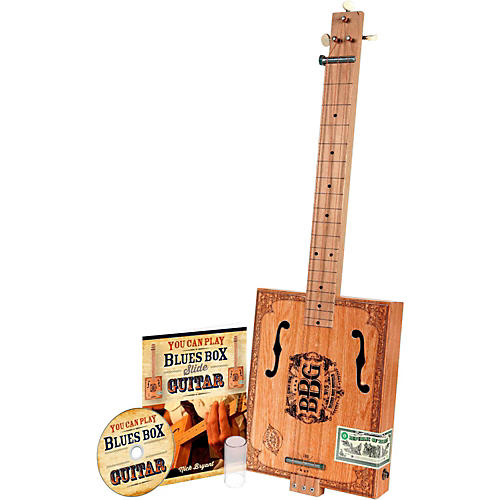 Hinkler The Electric Blues Box Slide Guitar with Guitar Slide, Instruction Book and Audio CD
