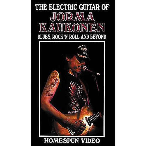 hal leonard the electric guitar of jorma kaukonen video musician 39 s friend. Black Bedroom Furniture Sets. Home Design Ideas