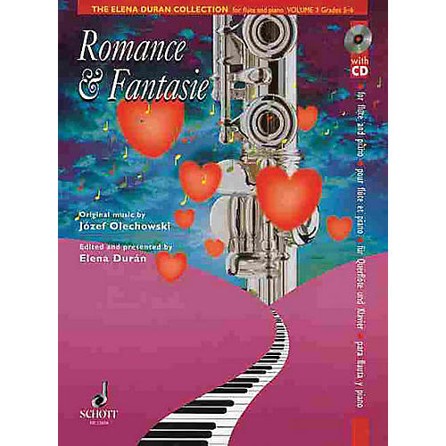 Schott The Elena Durán Collection (Volume III: Romance & Fantasie (Grades 5-6)) Schott Series-thumbnail