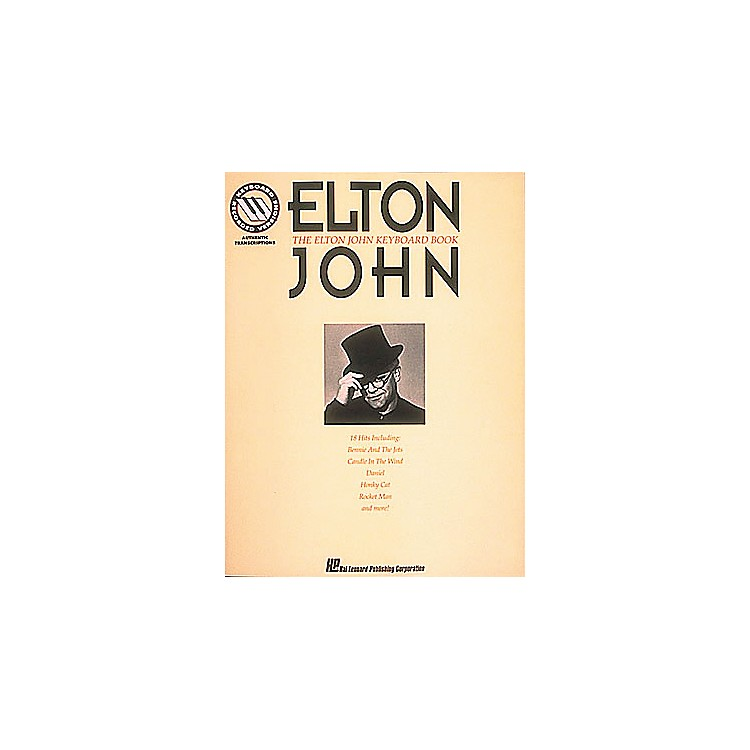 Hal Leonard The Elton John Keyboard Songbook