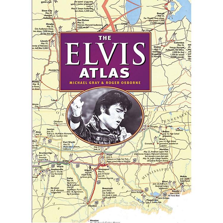 Hal LeonardThe Elvis Atlas hard cover book