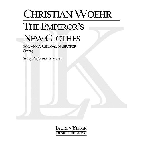 Lauren Keiser Music Publishing The Emperor's New Clothes for Viola and Cello with Narrator LKM Music Series Composed by Christian Woehr-thumbnail