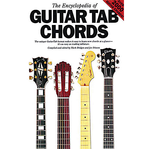 Music Sales The Encyclopedia of Guitar Tab Chords Music Sales America Series Softcover Written by Mark Bridges-thumbnail