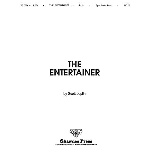 Hal Leonard The Entertainer Concert Band Level 3 Arranged by Arthur Frackenpohl