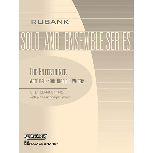Rubank Publications The Entertainer (Three Bb Clarinets with Piano - Grade 2.5) Rubank Solo/Ensemble Sheet Series Softcover-thumbnail