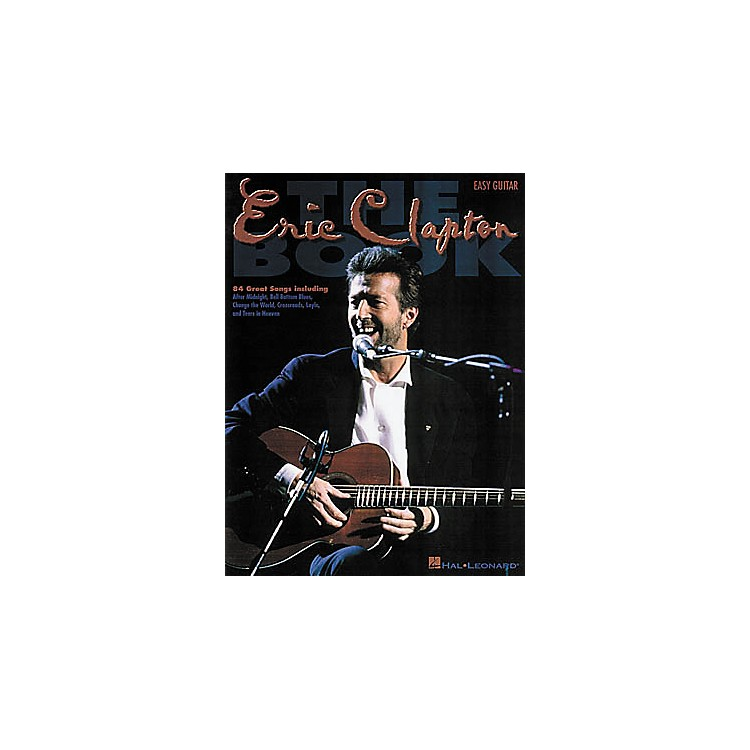 Hal Leonard The Eric Clapton Guitar Tab Book