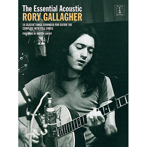 Music Sales The Essential Acoustic Rory Gallagher Guitar Personality Series Softcover Performed by Rory Gallagher-thumbnail