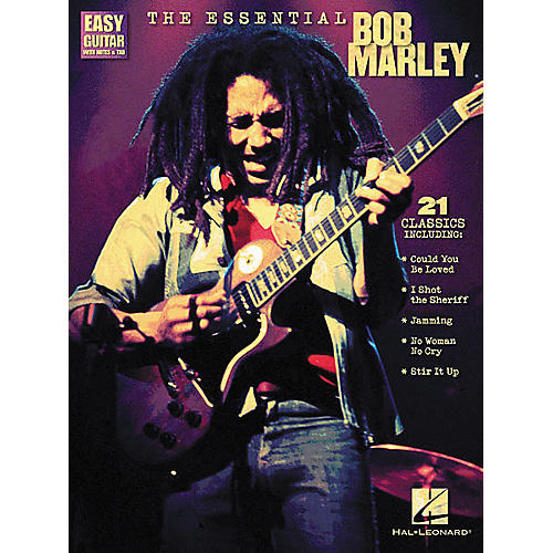 Hal Leonard The Essential Bob Marley Easy Guitar Tab Songbook