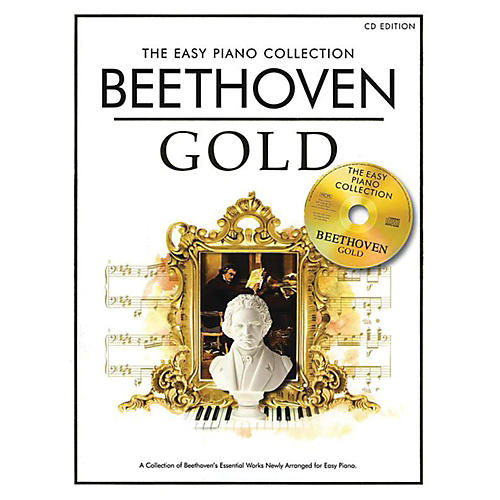 Music Sales The Essential Collection Beethoven Easy Piano Gold Book/CD