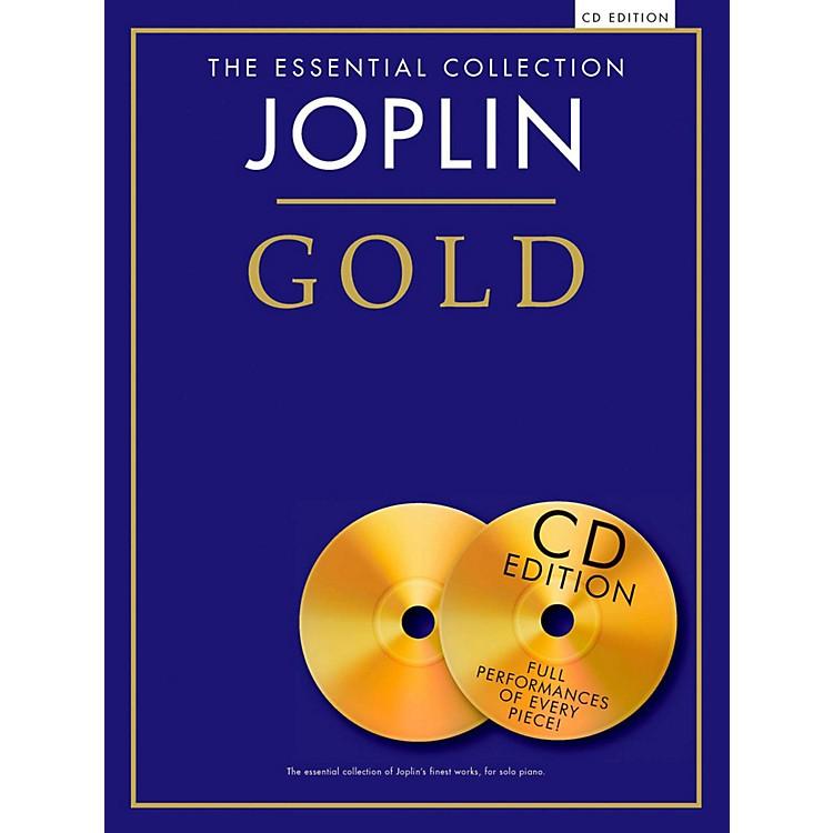 Music SalesThe Essential Collection Joplin Gold Book/CD