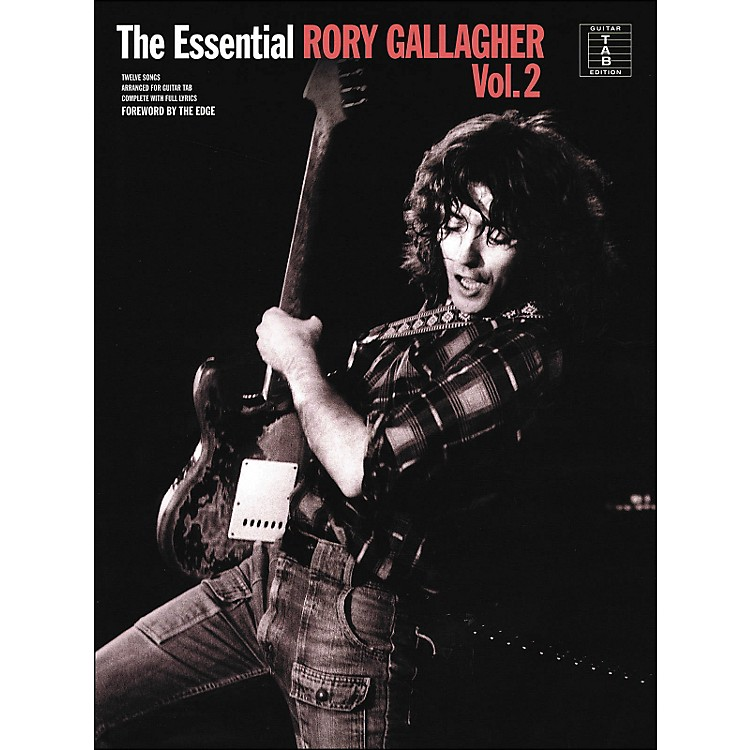 Music Sales The Essential Rory Gallagher Vol. 2 Tab Book