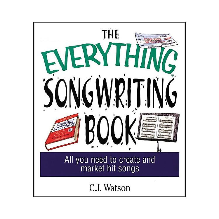 Adams MediaThe Everything Songwriting Book