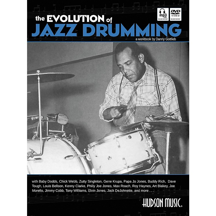 Hudson Music The Evolution Of Jazz Drumming (Book/CD/DVD)