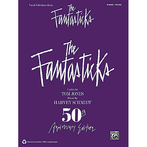 Alfred The Fantasticks (Vocal Selections) Vocal Selections Series Softcover-thumbnail