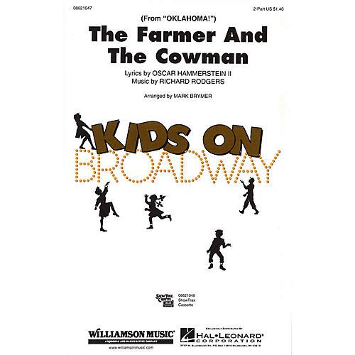Hal Leonard The Farmer and the Cowman (from Oklahoma!) 2-Part arranged by Mark Brymer-thumbnail
