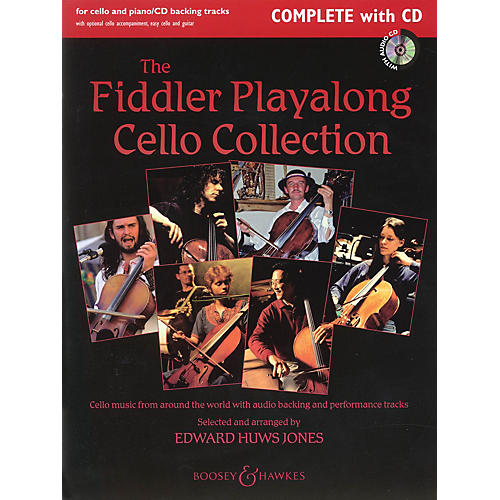 Boosey and Hawkes The Fiddler Playalong Cello Collection Boosey & Hawkes Chamber Music Series Softcover with CD