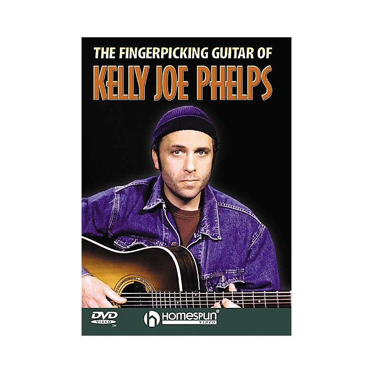 HomespunThe Fingerpicking Guitar of Kelly Joe Phelps (DVD)