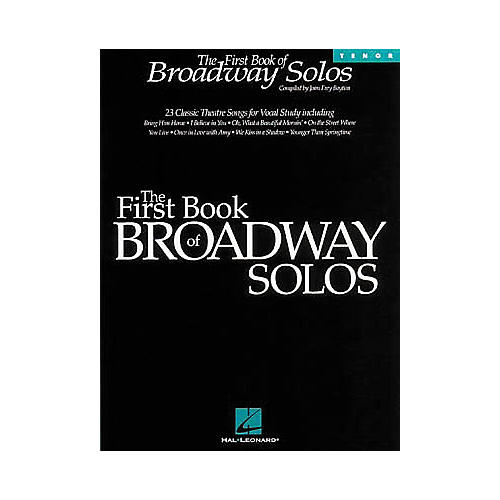 Hal Leonard The First Book of Broadway Solos-thumbnail