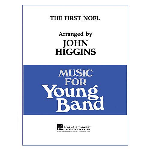 Hal Leonard The First Noel - Young Concert Band Level 3 by John Higgins-thumbnail