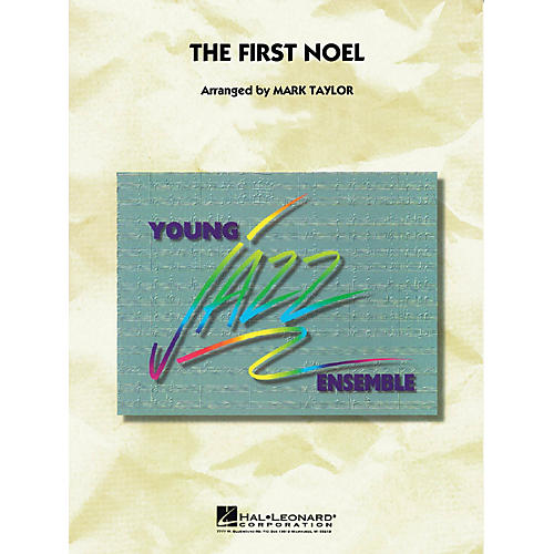 Hal Leonard The First Noel Jazz Band Level 3 Arranged by Mark Taylor-thumbnail