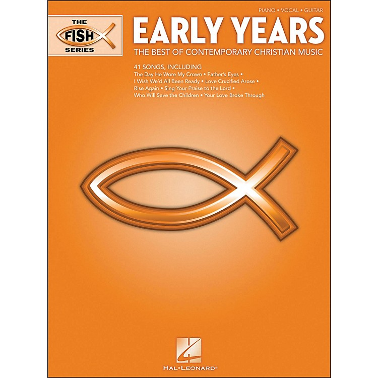 Hal LeonardThe Fish Series - Early Years (Orange Book) arranged for piano, vocal, and guitar (P/V/G)