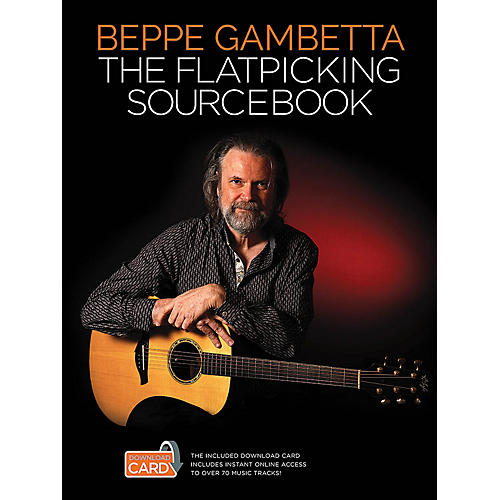 Wise Publications The Flatpicking Sourcebook Music Sales America Series Softcover Audio Online Written by Beppe Gambetta-thumbnail