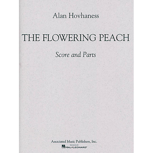 Associated The Flowering Peach Percussion Series Composed by Alan Hovhaness-thumbnail