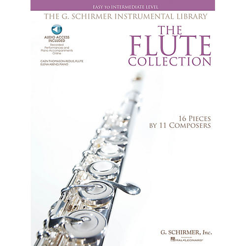 G. Schirmer The Flute Collection - Easy to Intermediate Level Woodwind Solo Series Softcover Audio Online-thumbnail