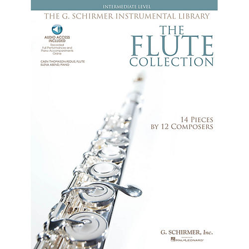 G. Schirmer The Flute Collection - Intermediate Level Woodwind Solo Series Softcover Audio Online-thumbnail