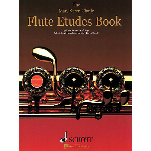 Schott The Flute Etudes Book Schott Series Softcover Composed by Mary Karen Clardy-thumbnail