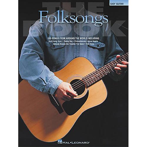Hal Leonard The Folksongs Easy Guitar Tab Songbook