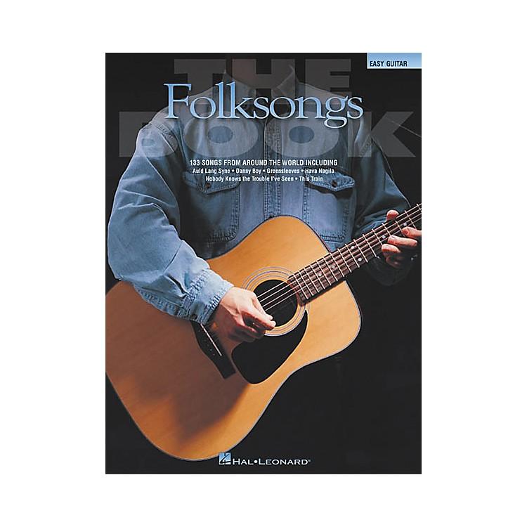 Hal LeonardThe Folksongs Easy Guitar Tab Songbook