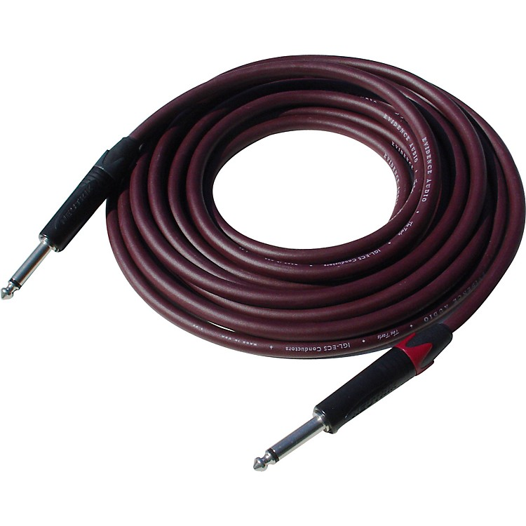 Evidence Audio The Forte Instrument Cable 20 foot Straight to Straight