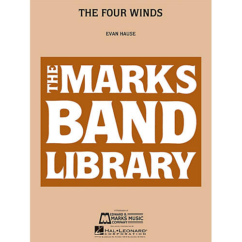 Edward B. Marks Music Company The Four Winds Concert Band Level 4 Composed by Evan Hause-thumbnail