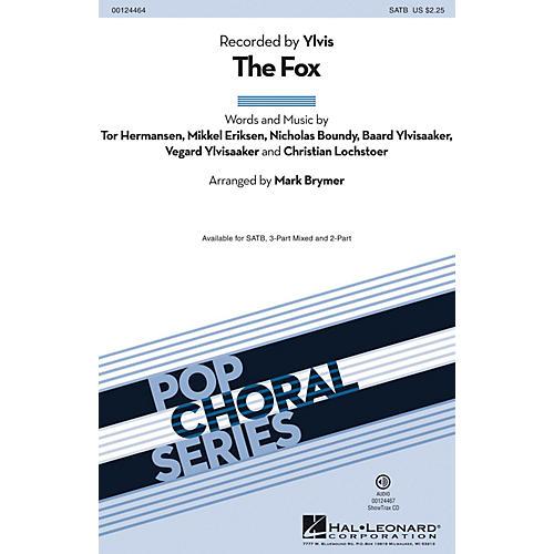 Hal Leonard The Fox SATB by Ylvis arranged by Mark Brymer
