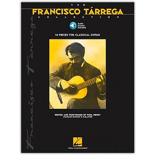 Hal Leonard The Francisco Tarrega Collection Tab & Notation (Book/Online Audio)-thumbnail