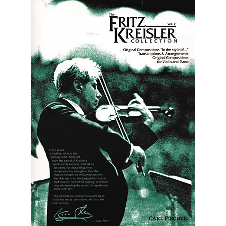 Carl FischerThe Fritz Kreisler Collection - Volume 2