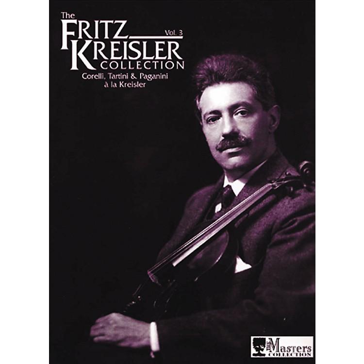 Carl FischerThe Fritz Kreisler Collection - Volume 3 Book