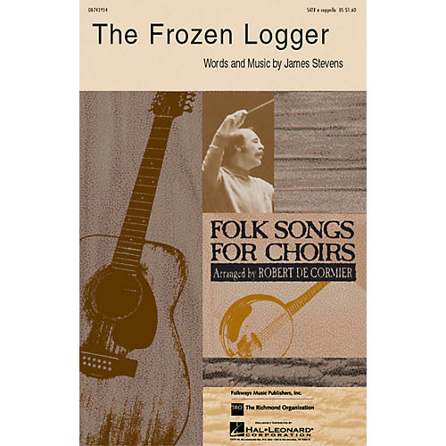 Hal Leonard The Frozen Logger SATB arranged by Robert DeCormier-thumbnail