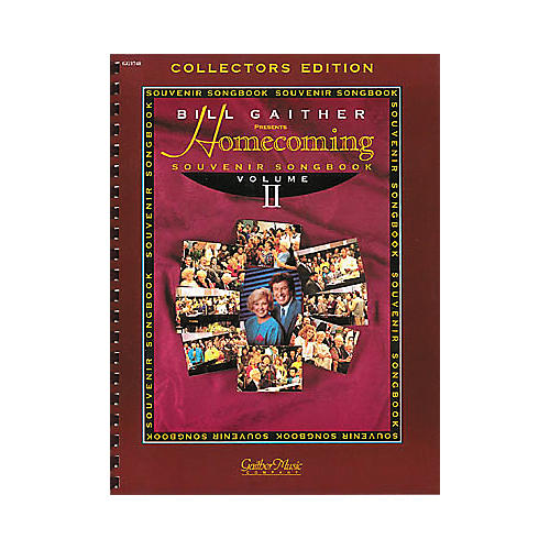 Word Music The Gaithers - Homecoming Souvenir Volume 2 Songbook