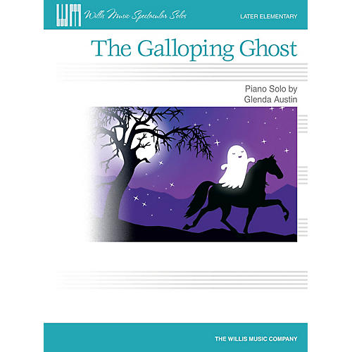 Willis Music The Galloping Ghost (Later Elem Level) Willis Series by Glenda Austin-thumbnail