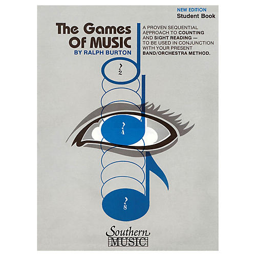 Southern The Games of Music, Student's Book (Student Book) Concert Band Composed by Ralph Burton-thumbnail