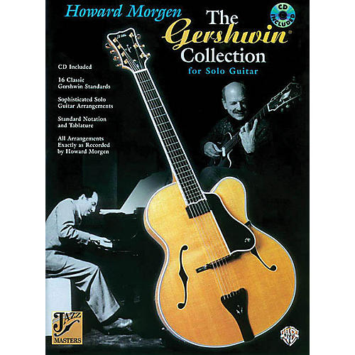 Alfred The Gershwin Collection for Solo Guitar (Jazz Masters Series) Guitar Book Series Softcover with CD-thumbnail