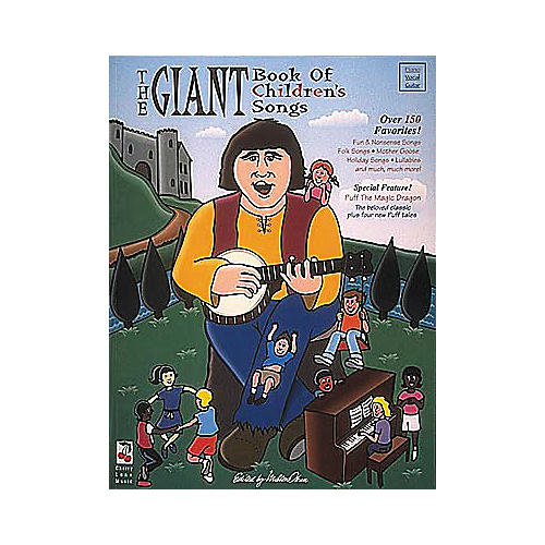 Cherry Lane The Giant Book of Children's Songs Book-thumbnail