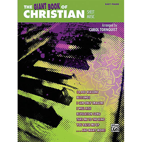 Alfred The Giant Book of Christian Sheet Music Easy Piano Book-thumbnail